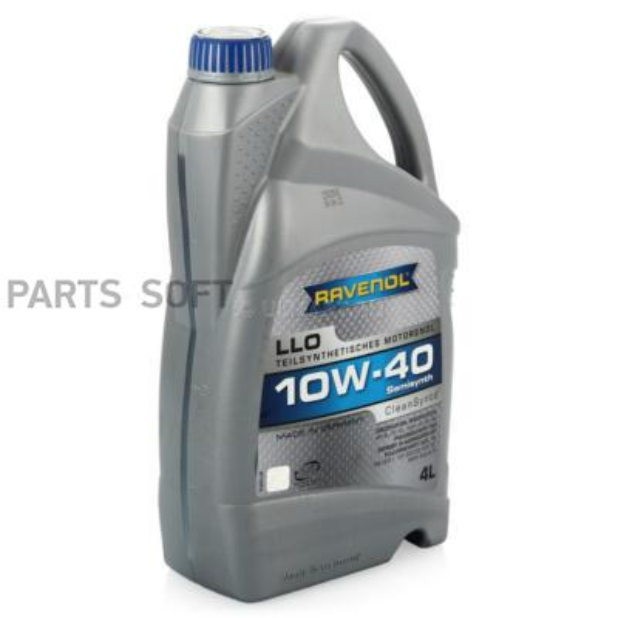 Масло Моторное Ravenol Llo 10w40 Полусинтетическое 4 Л 1112112004 Ravenol арт. 1112112004