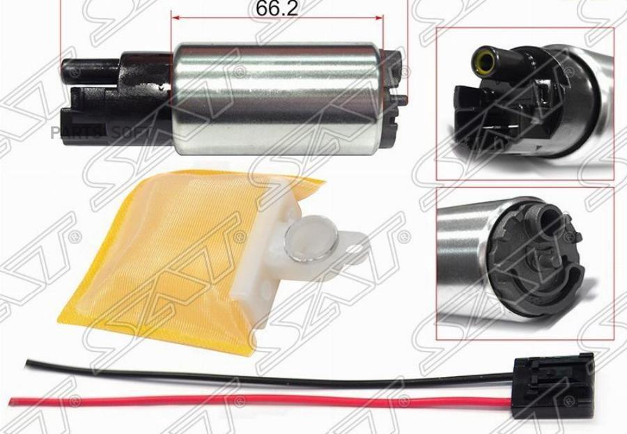 Топливный наcос 12V, 3BAR, 90L / H 1KRFE