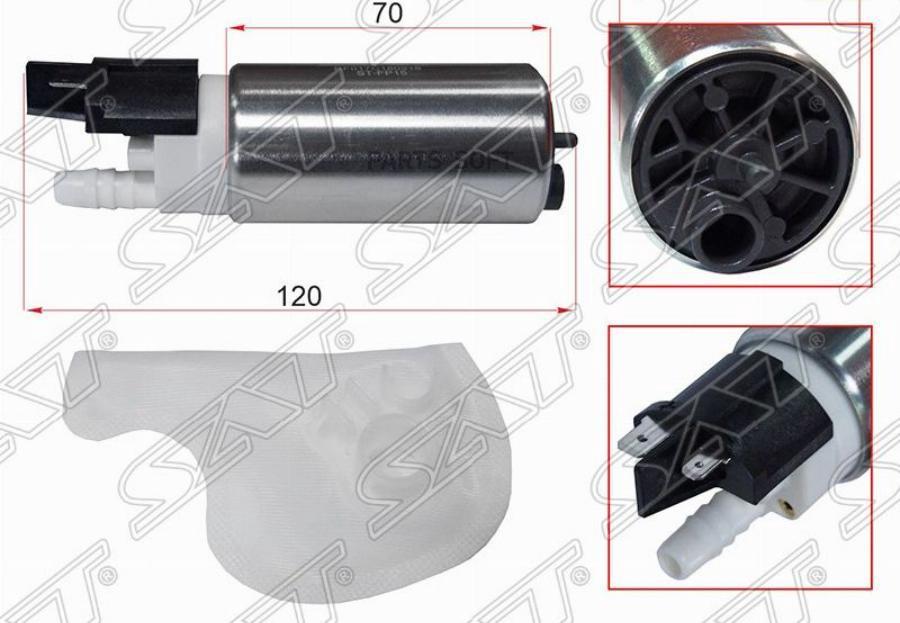 Топливный насос CR / HR / MR / K7M / K4M Cube / March / Note / Tiida / Wingroad / Logan / Duster / Sandero