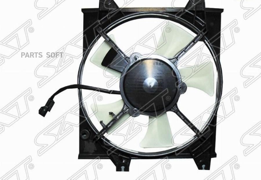 Диффузор радиатора в сборе HYUNDAI ACCENT (TAGAZ) 1.3 / 1.5 / 1.6 00