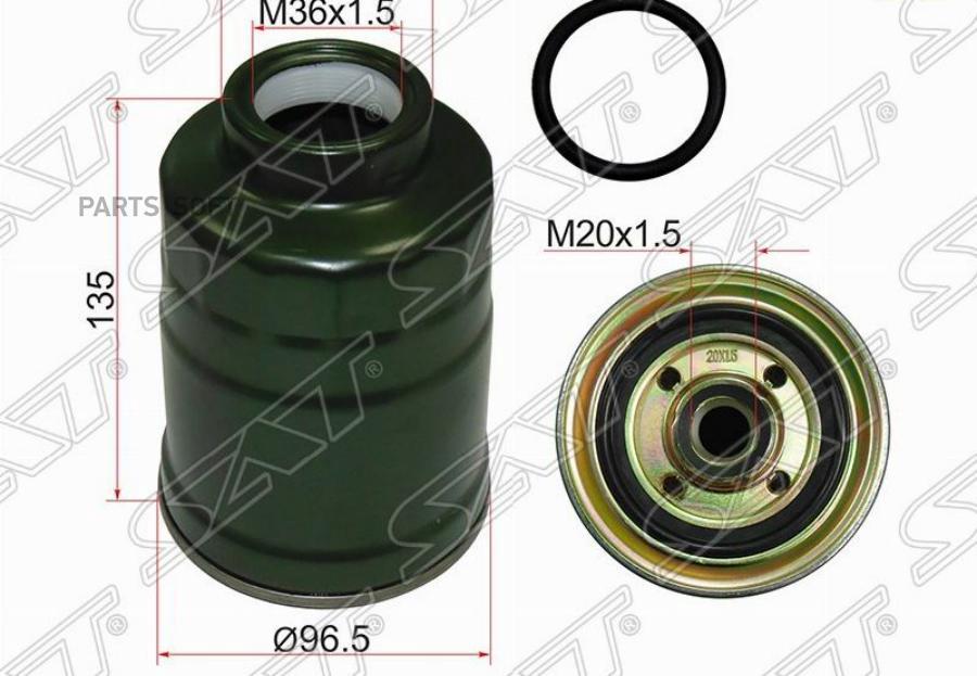 Фильтр топливный MITSUBISHI PAJERO SPORT 96-08 / CHALLENGER K9# 96-01 / L200 96-06