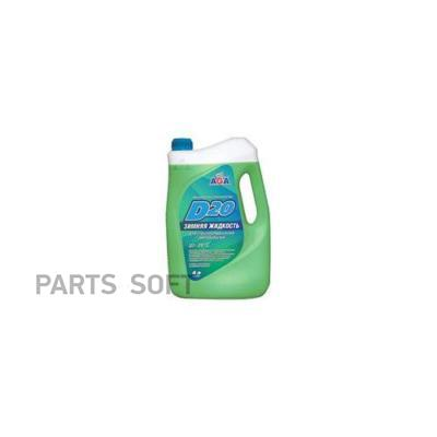 Жидкость омывания стекол 4л, (незамерзайка, до -20, без метанола)
