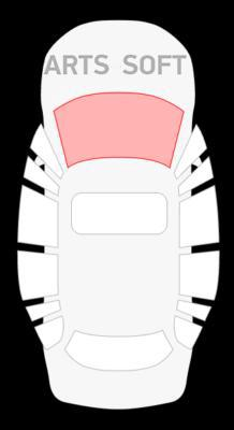 Honda Accord CF3/CF4/CF5 4D седан (97-01) / CF6/CF7 5D универсал (97-02) / Torneo CF3 4D седан (00-) с ом (П)