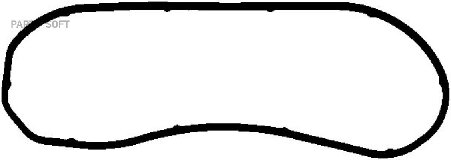Прокладка, крышка картера (блок-картер двигателя)