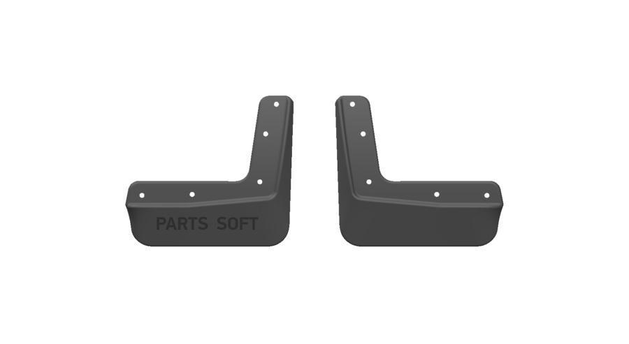 Брызговики резиновые для Hyundai Creta (2016-) Передние