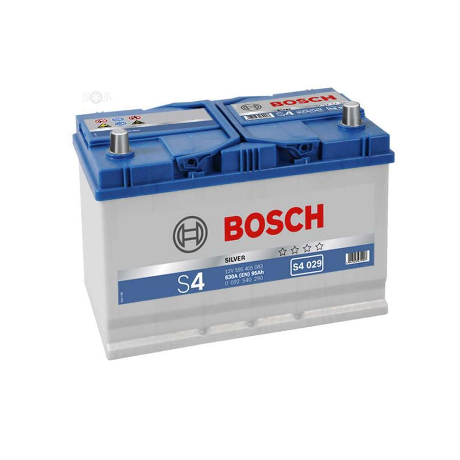 Аккумулятор для Хенде Санта Фе 95 обратной полярности BOSCH