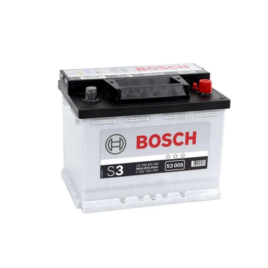 Аккумулятор для Дэу Нексия 56 обратный BOSCH