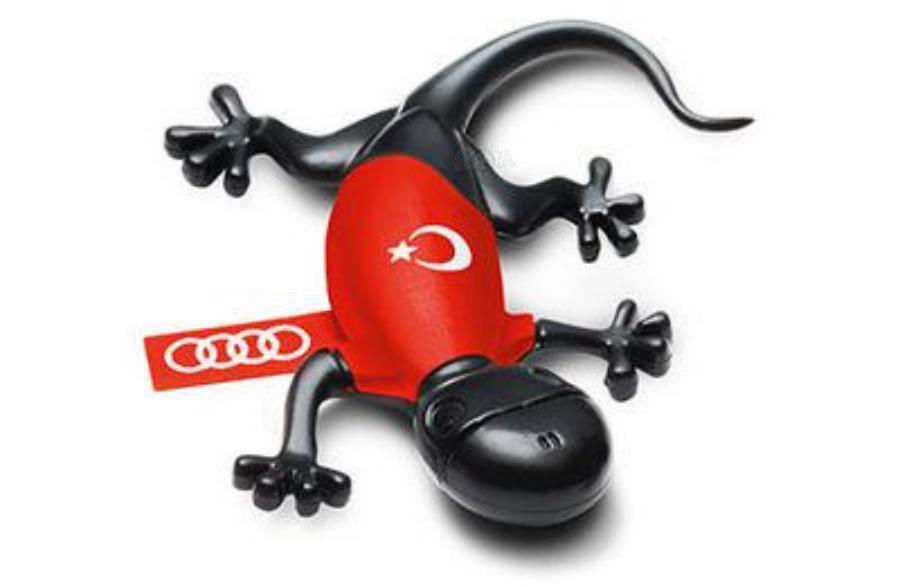 Ароматизатор воздуха в салон Audi Turkey Gecko Cockpit Air Freshener Scent Woody