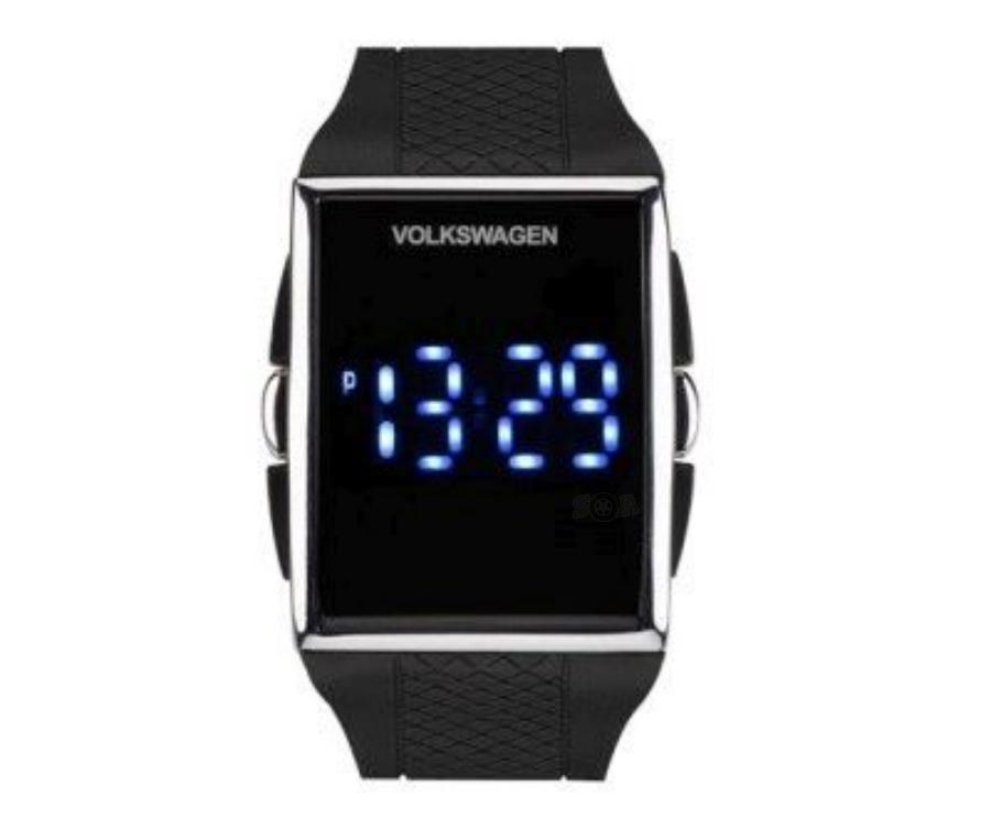 Светодиодные наручные часы Volkswagen LED Wrist Watch Unisex VAG