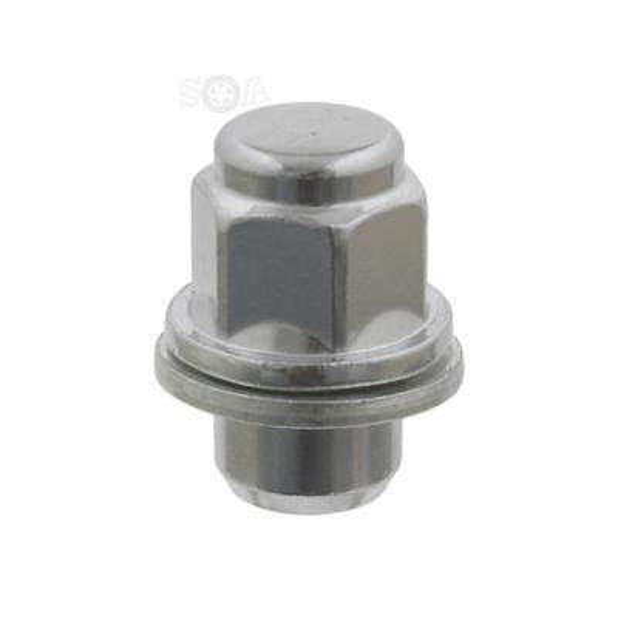 Колесная гайка для Мицубиси Лансер M12x1.5 хром FEBI