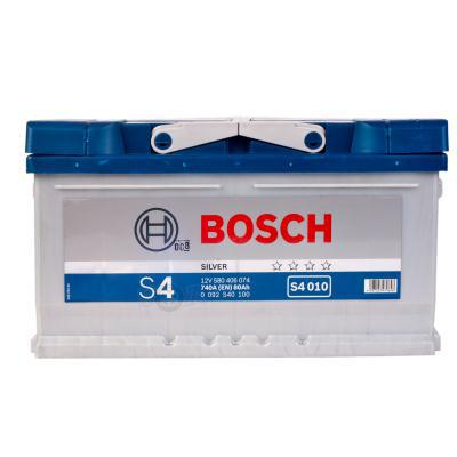 Аккумулятор Бош 80 для ауди а6 низкий BOSCH