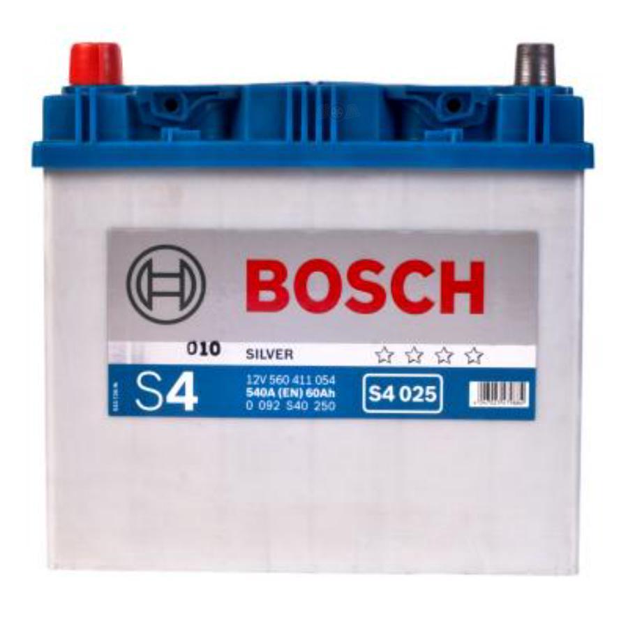 Аккумулятор Бош 60 азия прямой полярности  BOSCH