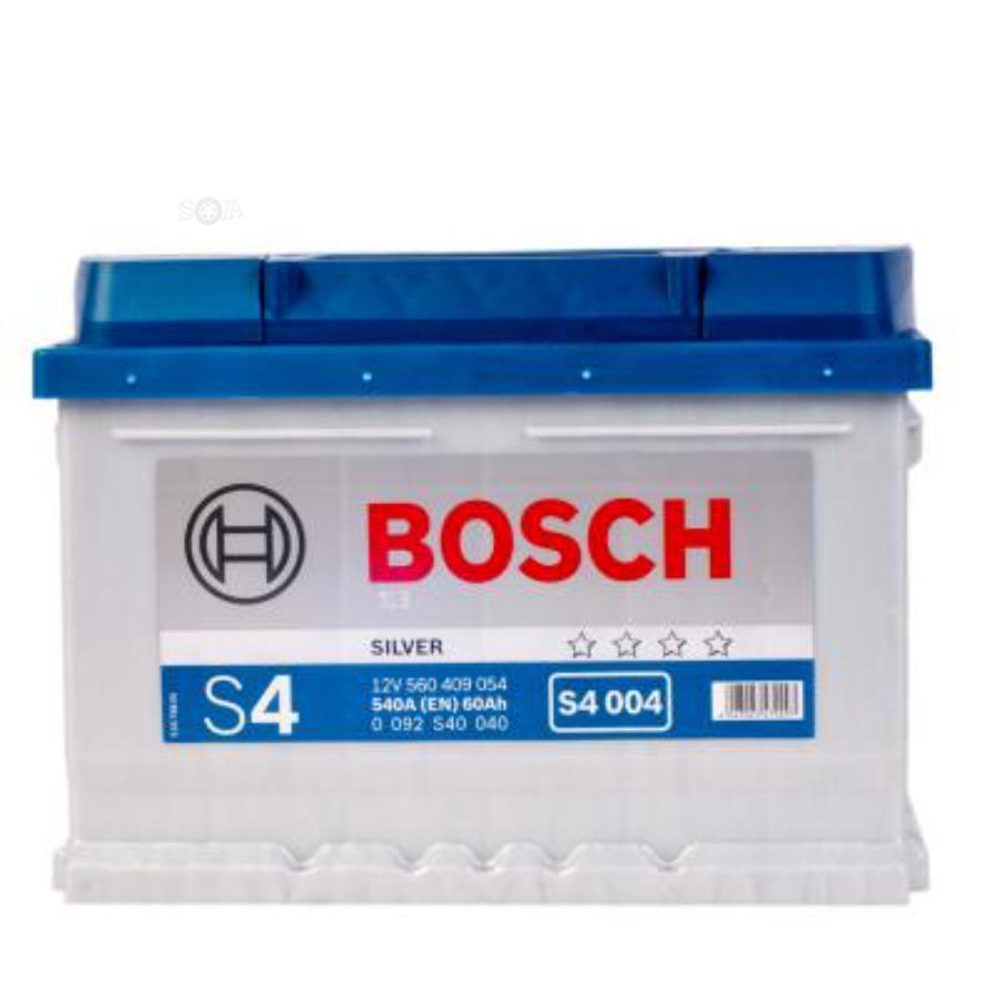 Аккумулятор Бош 60 для ауди а6 низкий BOSCH