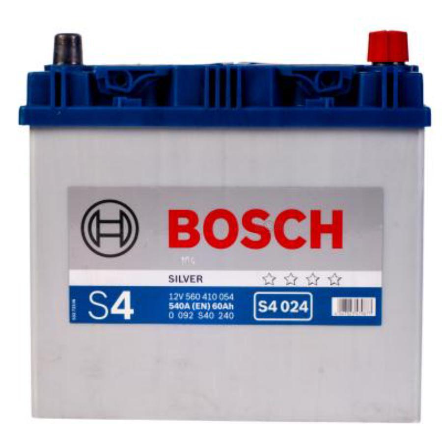 Аккумулятор для Киа Рио 60 обратной полярности BOSCH