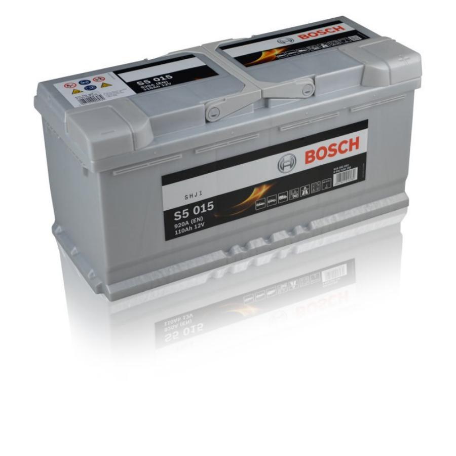 Аккумулятор для Порше Кайен Бош 110 обратной полярности  BOSCH