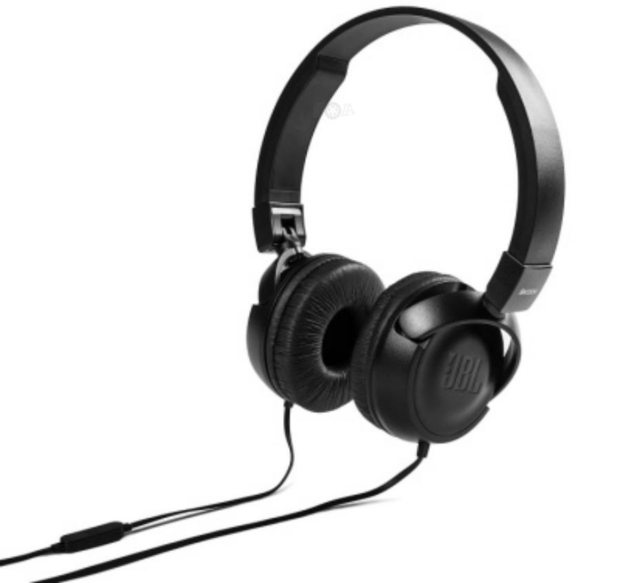 Складные наушники Skoda Headphones JBL black VAG