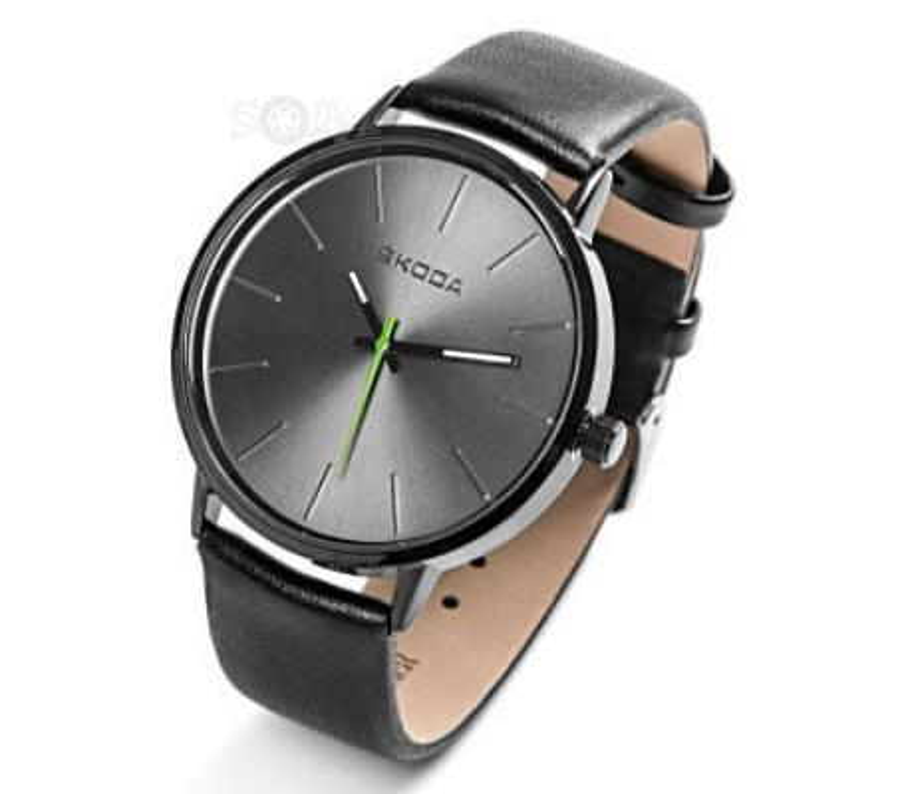 Мужские наручные часы Skoda Men's Watch Black VAG