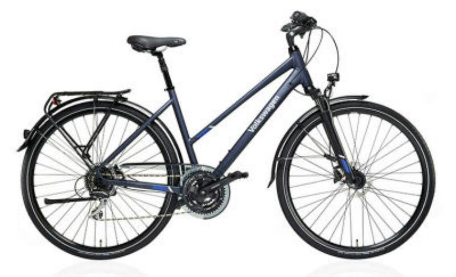 Женский трекинговый велосипед Volkswagen Trekking Bike Ladies Matt Blue VAG