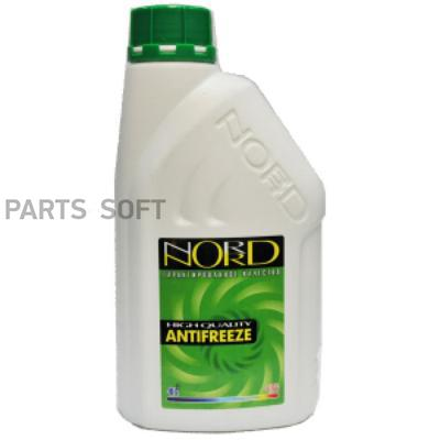 Антифриз NORD -40 1кг (зелёный)
