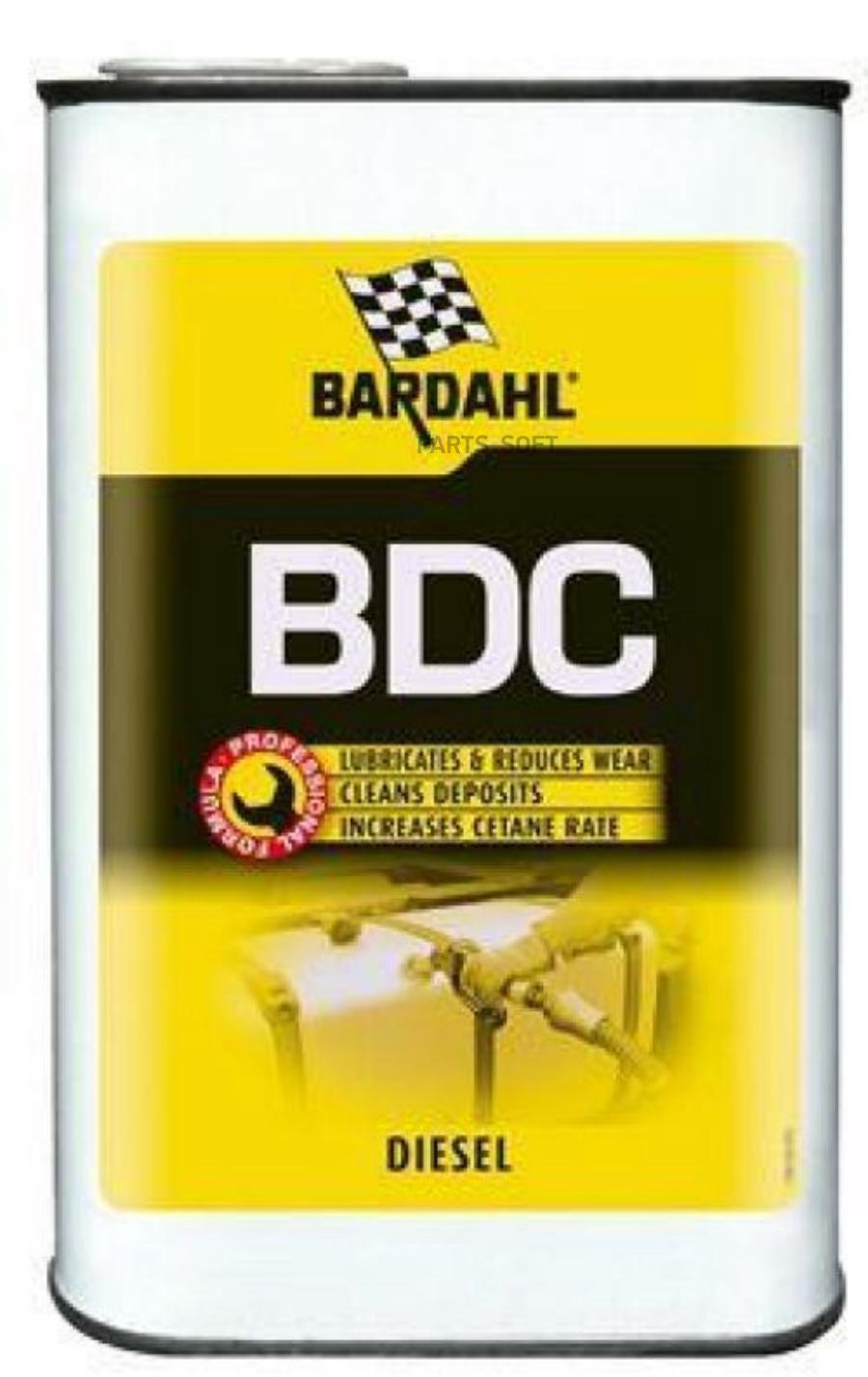Восстанавливающая и очищающая добавка в дизельное топливо Bardahl Diesel Combustion (Bdc) 1л