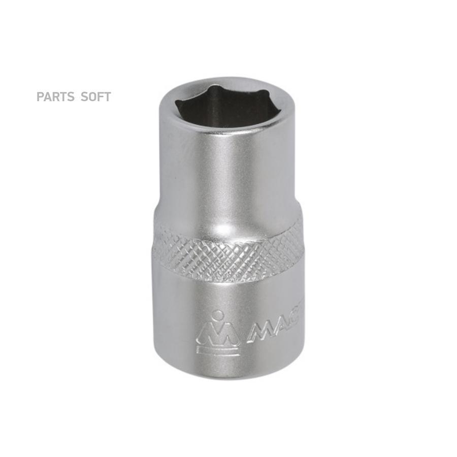 "Головка торцевая стандартная шестигранная 1/2"", 13 мм МАСТАК 000-40013"
