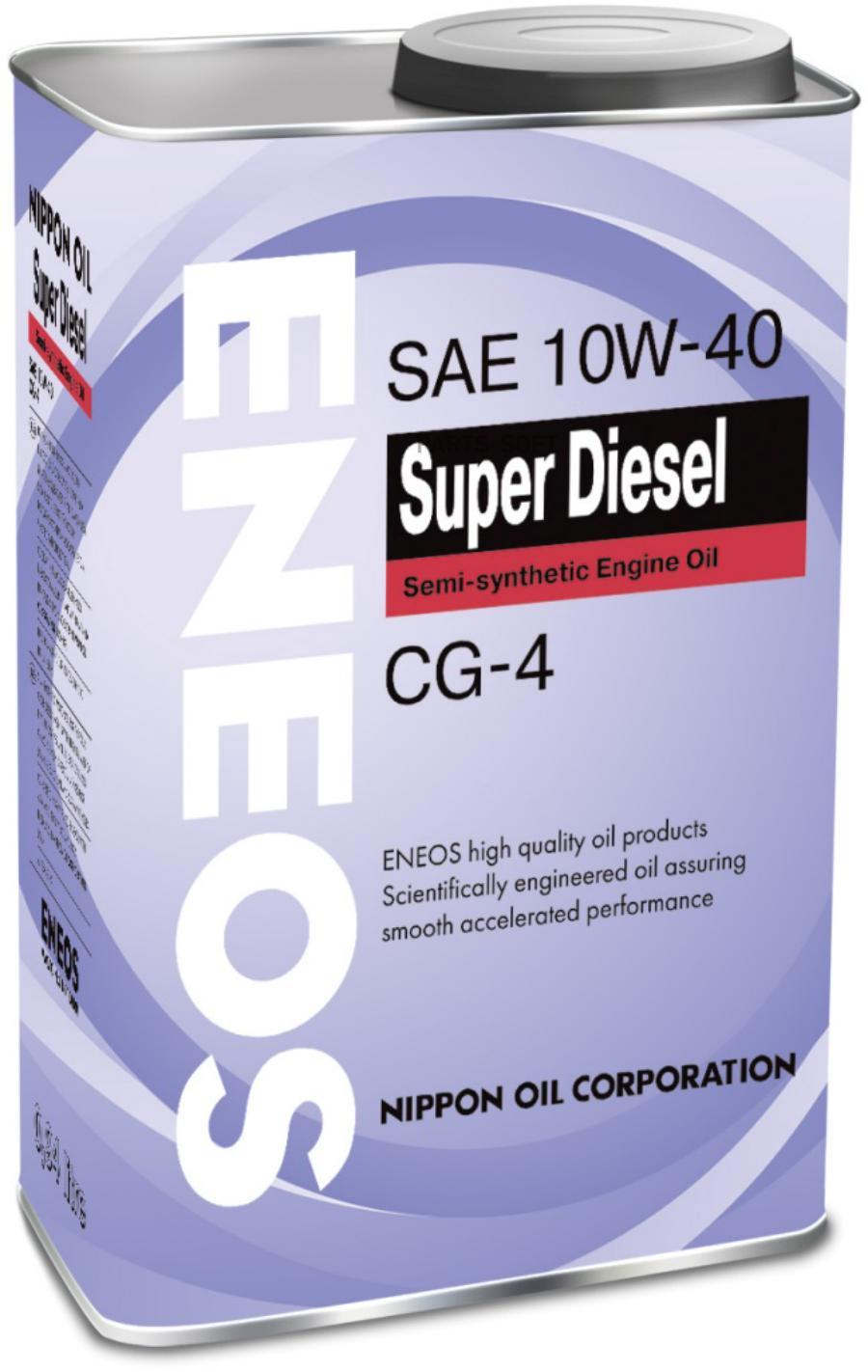 Масло моторное полусинтетическое DIESEL CG-4 10W-40, 0,94л