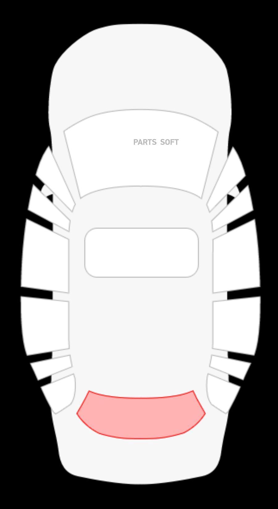 Audi 90 4D Sed заднее с ЭО