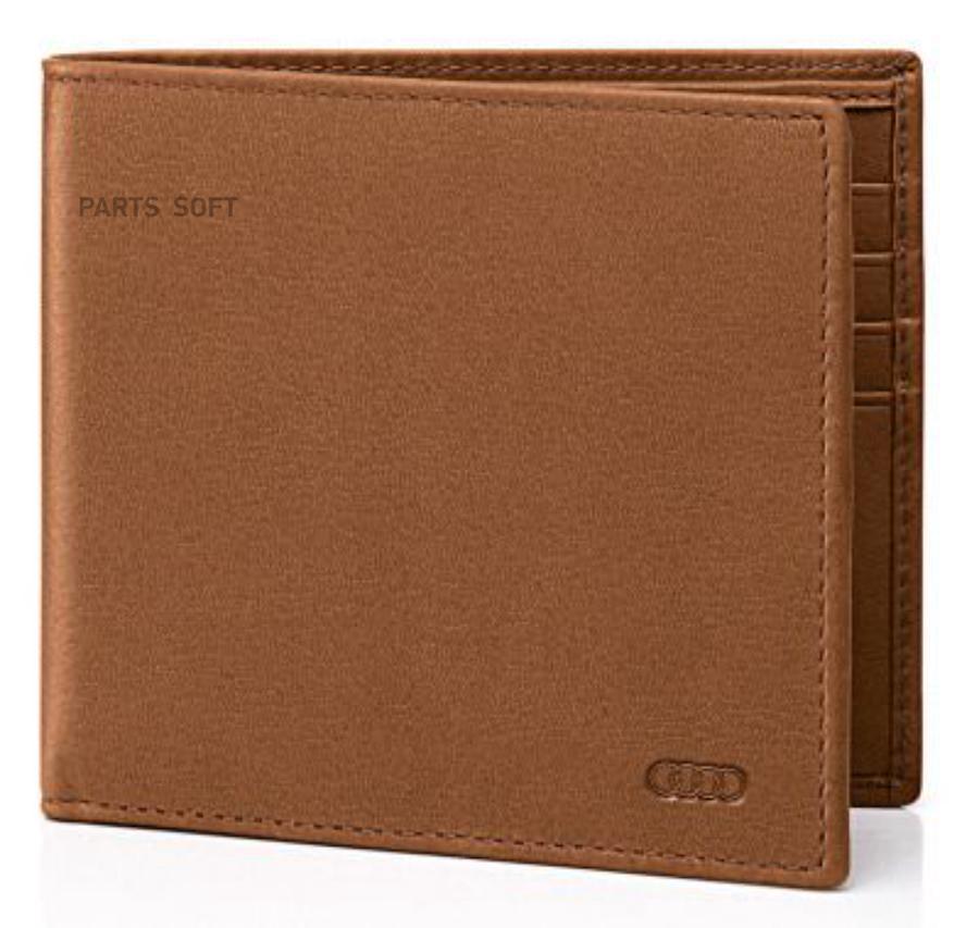 60a5e2e8f451 VAG Мужской кошелек Audi Men's purse Poltrona Frau Cognac Agatha