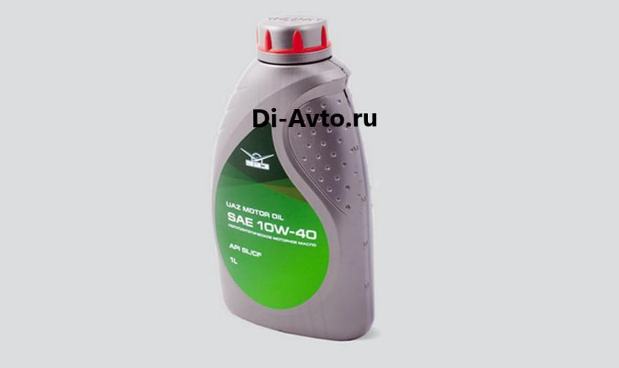 Масло моторное полусинтетическое Motor Oil 10W-40, 1л