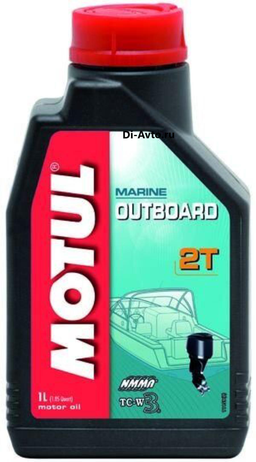 Масло моторное минеральное OUTBOARD 2 T, 1л