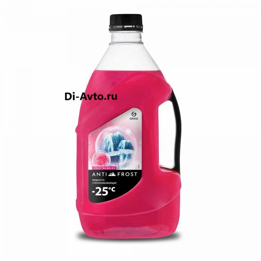 Жидкость стеклоомывающая «Antifrost -25» fruit bubbles (канистра 4 л)