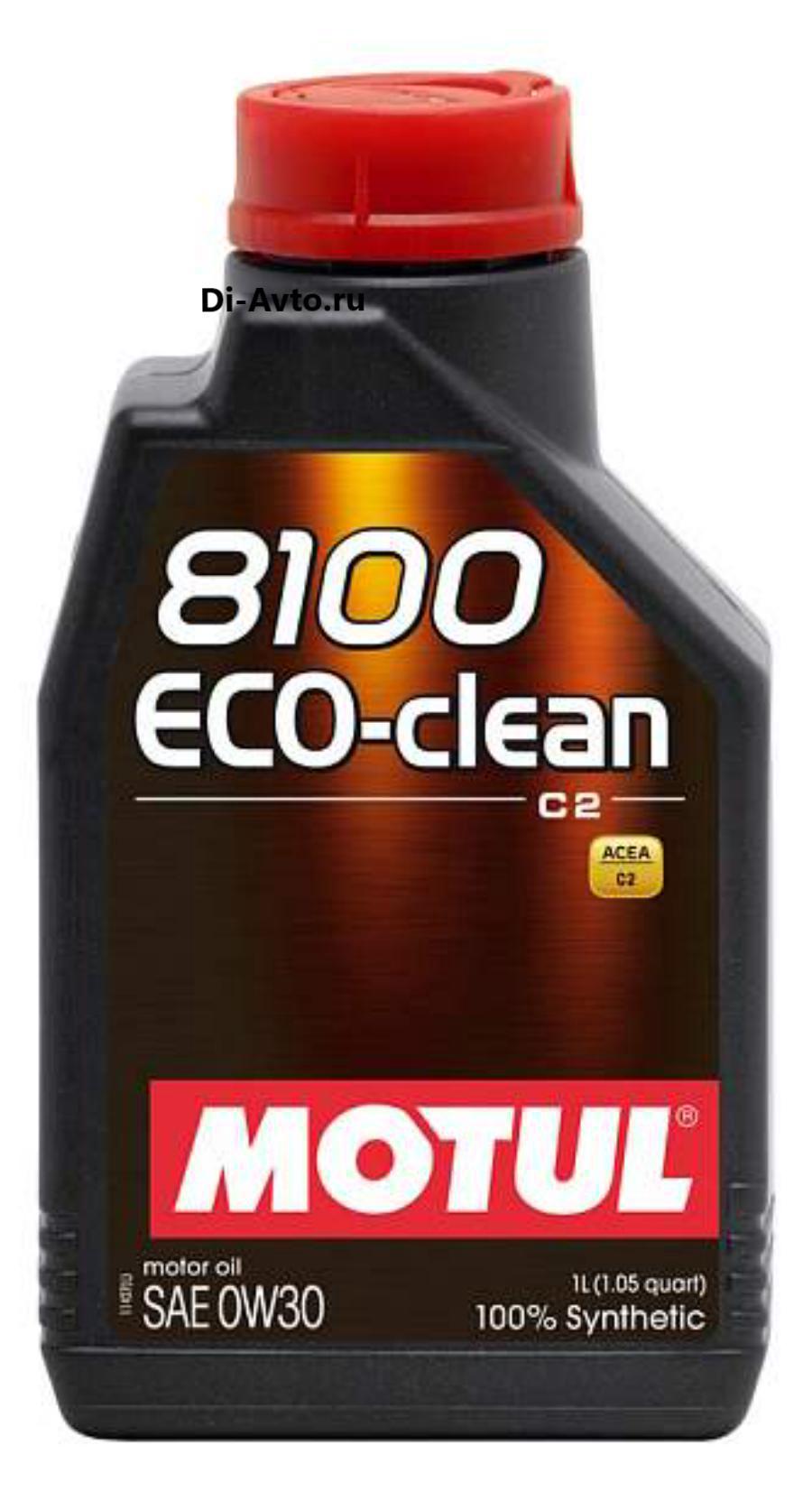 Масло моторное синтетическое 8100 Eco-clean 0W-30, 1л