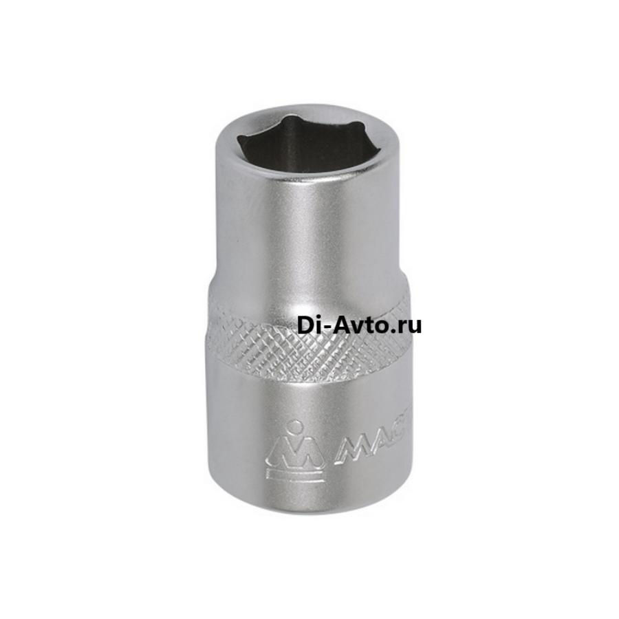 "Головка торцевая стандартная шестигранная 1/2"", 08 мм МАСТАК 000-40008"