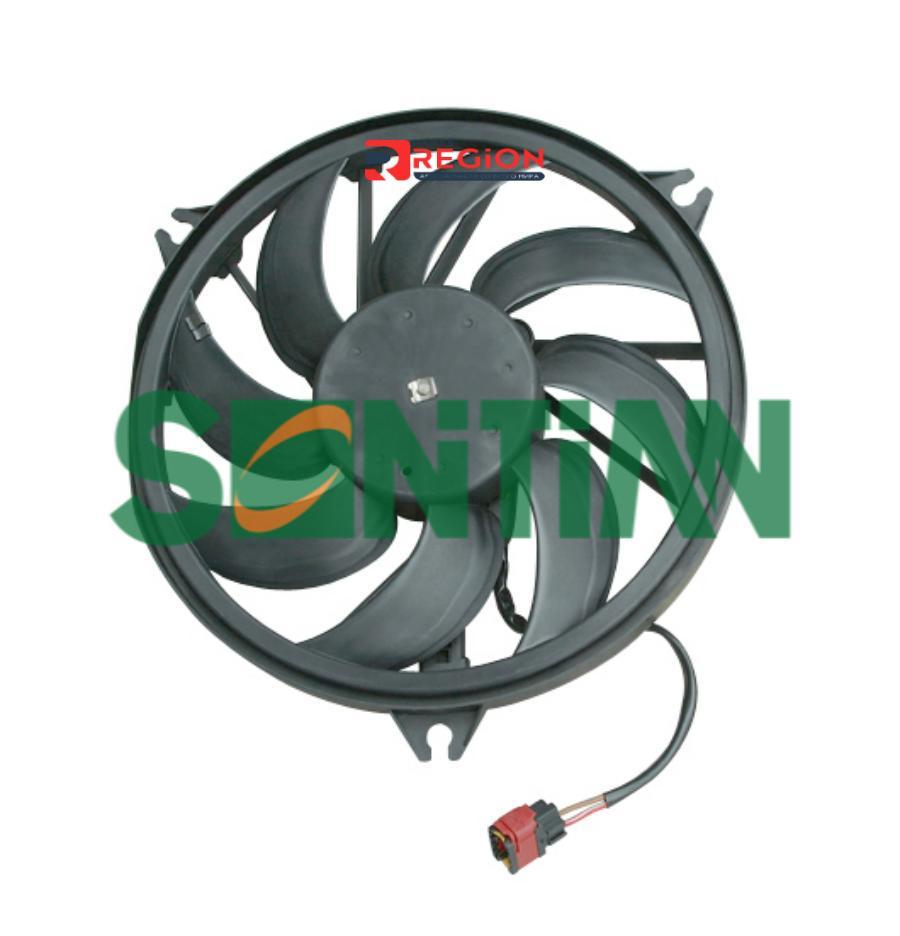 Вентилятор радиатора PEUGEOT 206 Hatchback (2A/C) 08/1998 -PEUGEOT 206 CC (2D) 09/2000 -PEUGEOT 206