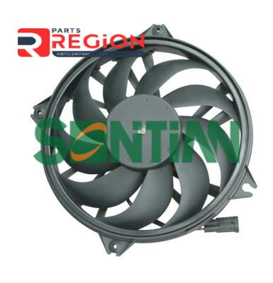 Вентилятор радиатора PEUGEOT 807 (E) 06/2002 -PEUGEOT EXPERT Box (VF3A_, VF3U_, VF3X_) 01/2007 -FIA