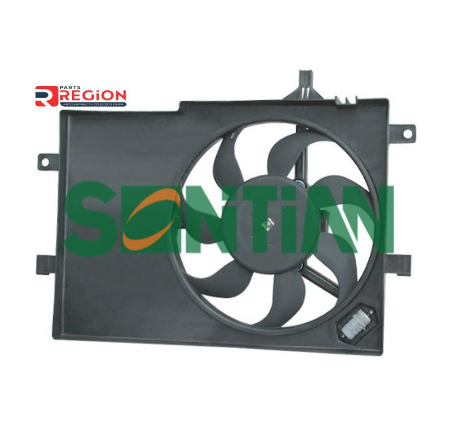 Вентилятор радиатора FIAT Palio 1.2 Rest. A/CFIAT Siena Extra Europa Rest. 1.2 2002-