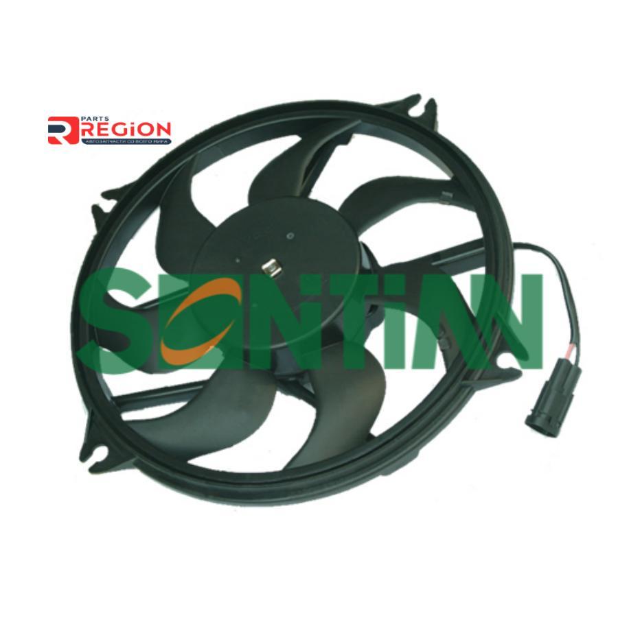 Вентилятор радиатора PEUGEOT 307 2007--