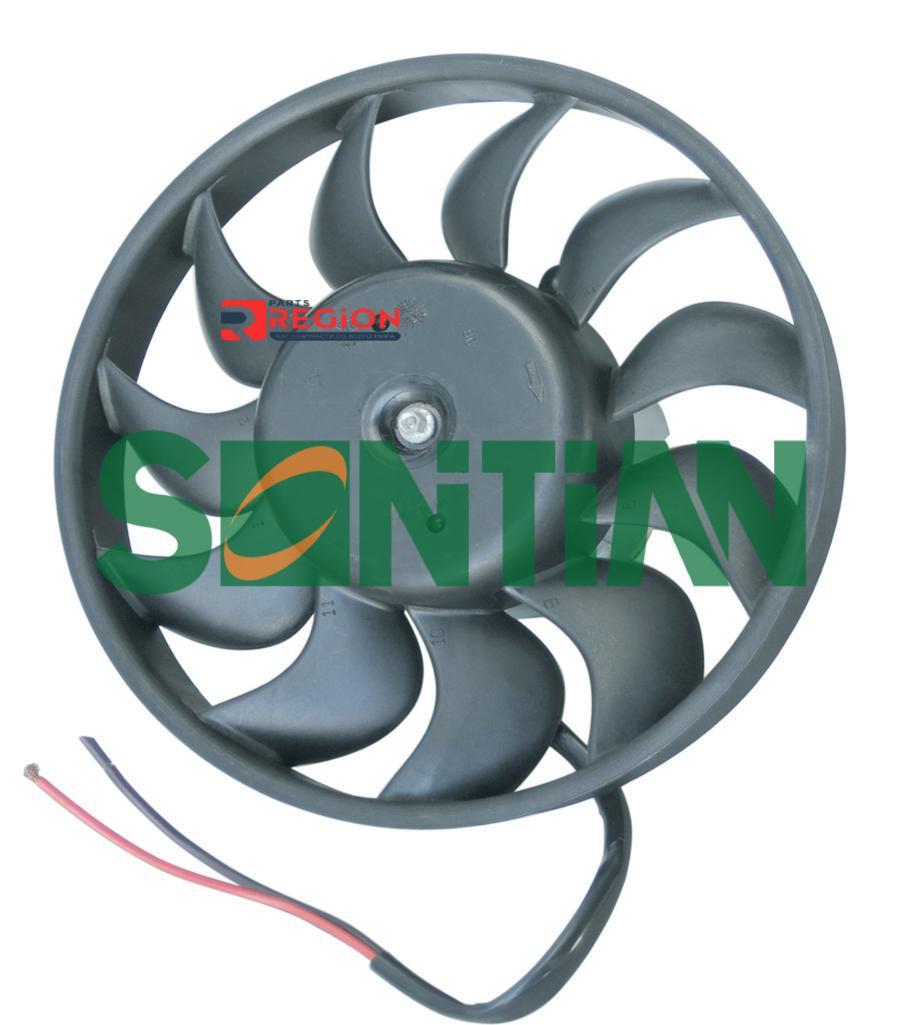 Вентилятор радиатора AUDI A4(B6)/Audi B7(A4) Right side 1.8/2.4/3.0