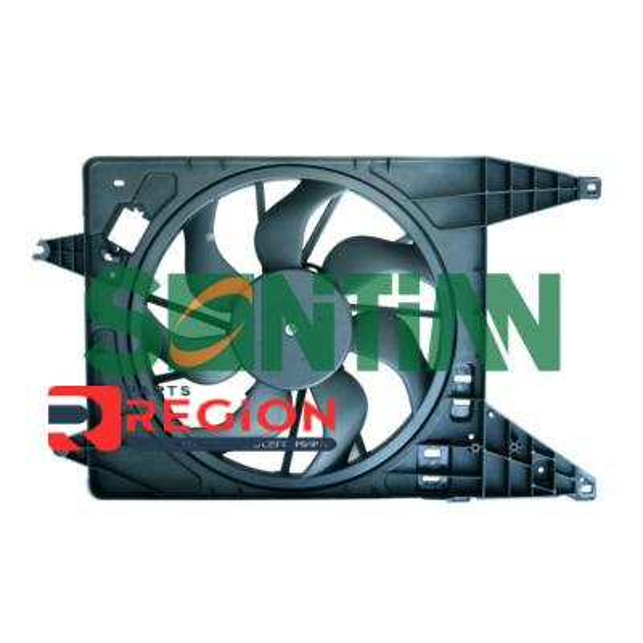 Вентилятор радиатора RENAULT Duster (10-) 1.6i / 1.6i 16V / 1.5dCi 16V 2010 - RENAULT Logan 1.4i 16