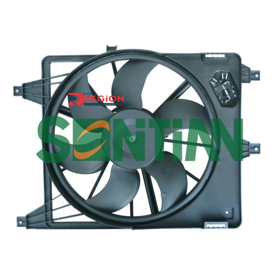 Вентилятор радиатора RENAULT Clio II 1.0i / 1.2i / 1.4i / 1.6i / 1.9dTi 2001 -RENAULT Clio Symbol 1