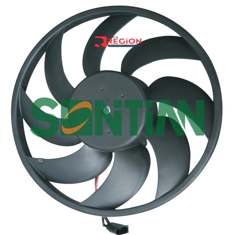 Вентилятор радиатора PEUGEOT 206 With A/C