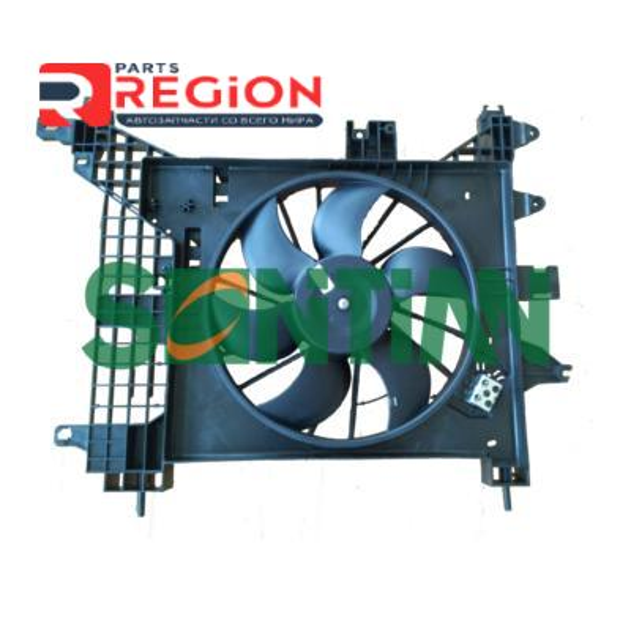 Вентилятор радиатора Renault Duster 2011