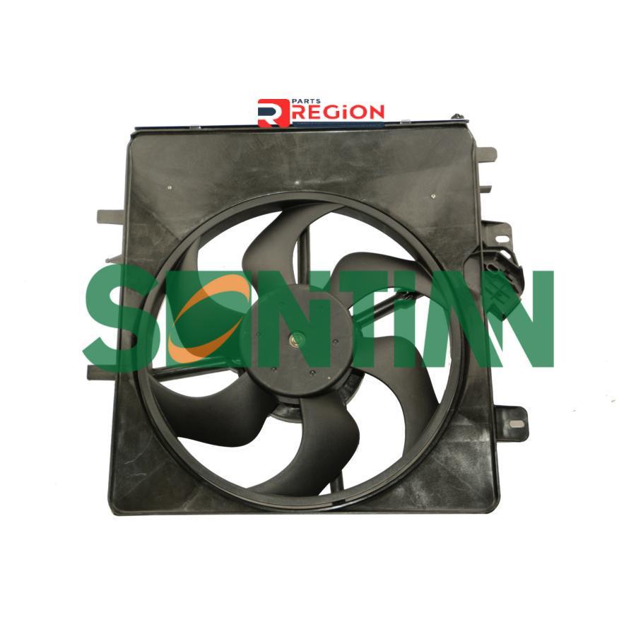 Вентилятор радиатора CITROEN C2 2003-C3 2002-C3 Pluriel 2003- PEUGEOT: 1007 2005-207 SW 2007-