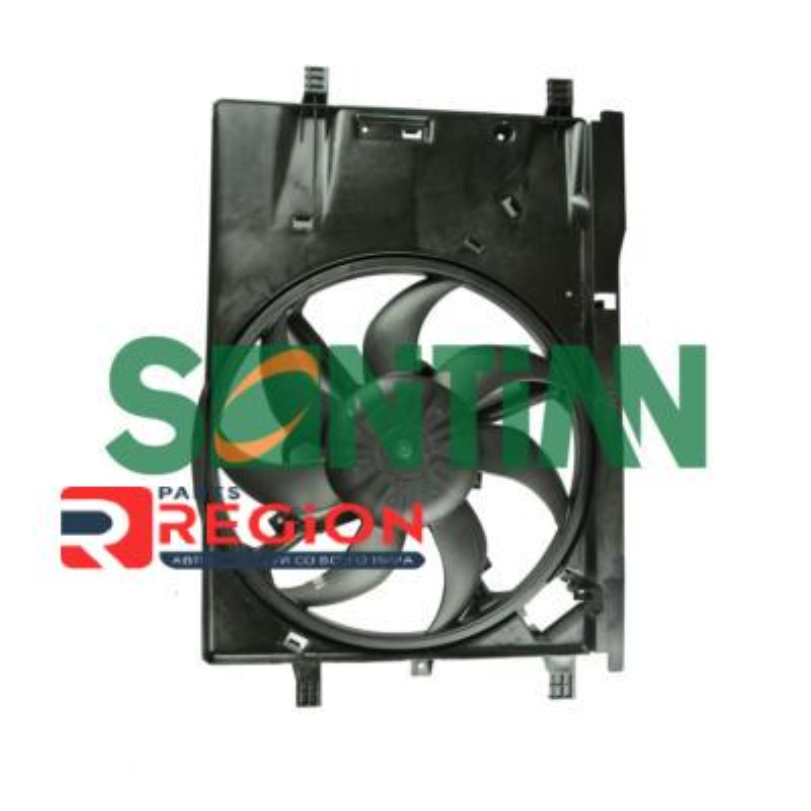 Вентилятор радиатора FIAT Grand Punto 1.2-1.4 OPEL Corsa D 1.2-1.4