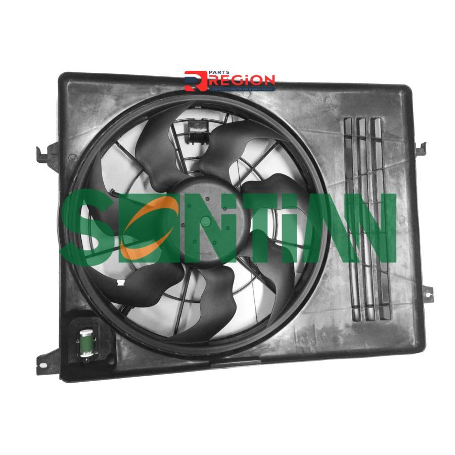 Вентилятор радиатора KIA Sportage II 2.0i 2004 - 2010 HYUNDAI Tucson I 2.0i 2004 - 2010
