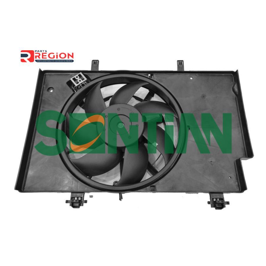 Вентилятор радиатора FORD FIESTA VI;B-MAX