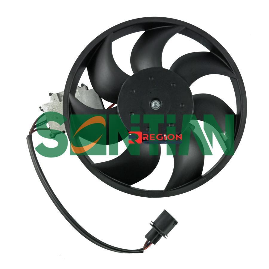 Вентилятор радиатора VW Touareg (7LA, 7L6, 7L7) 2002/10 - 2010/05AUDI Q7 (4L) 2006/03 - 2015/08 POR