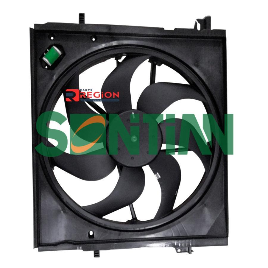 Вентилятор радиатора Nissan Qashqai (14-) 2.0i