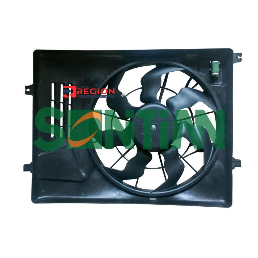 Вентилятор радиатора HYUNDAI TUSCON(15-) KIA SPORTAGE(16-)