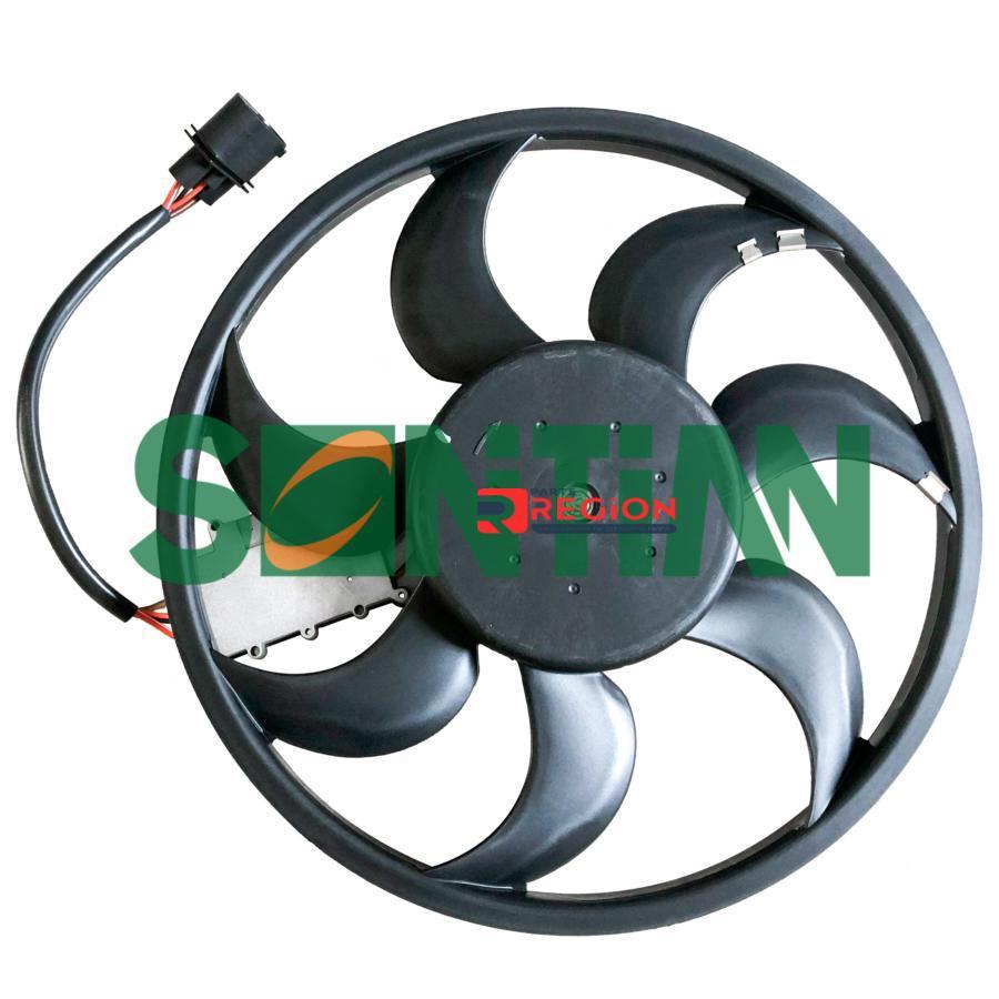 Вентилятор радиатора AUDI Q7 (4L) 3.0/3.6 2006/03 - 2015/08 PORSCHE Cayenne(9PA)3.2/3.6/4.8 2003/10